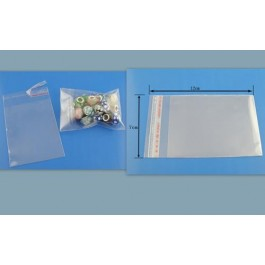 B03359: Clear Self Adhesive Seal Plastic Bags 7x12cm, 200 pieces/pack [ B1 ]