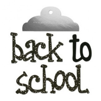 DC579: Sizzix: Bigz Die - Back to School with Clipboard Clip
