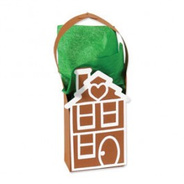 DC580: Sizzix: Bigz XL Die - GINGERBREAD HOUSE BAG
