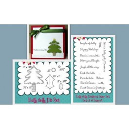 DC634: Holly Jolly Dies Stamp Set