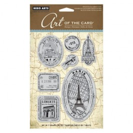 SM252: Hero Arts Cling Stamps -Paris, France