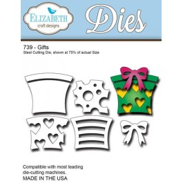 DC930: Elizabeth Craft Designs Dies: Gifts dies
