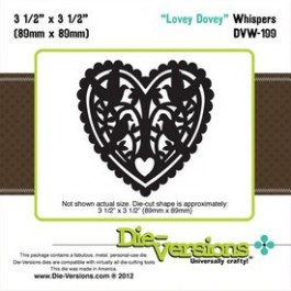 DD006: Die-Versions: Whispers - Lovey Dovey