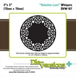 DD012: Die-Versions: Whispers - Valentine Lace