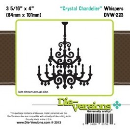 DD016: Die-Versions: Whispers - Crystal Chandelier
