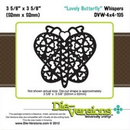 DD017: Die-Versions: Whispers - Lovely Butterfly