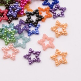 MC244: Dyed Star 11x12mm, 200 pieces [ B13 ]