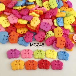 MC248: Dyed Butterfly 18x14mm, 100 pieces/pack [ A4 ]