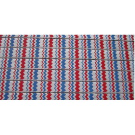 MC297: FOE Printed with chevron stripe 15mm 5meter