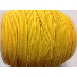 ER024: YELLOW GOLD: 6mm Skinny Elastic, 5 meter