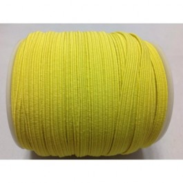 ER025: YELLOW: 6mm Skinny Elastic, 5 meter