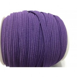ER027: PLUM PURPLE: 6mm Skinny Elastic 5 meter