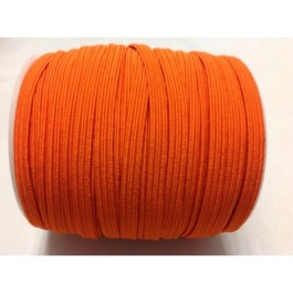 ER038: ORANGE: 6mm Skinny Elastic, 5 meter