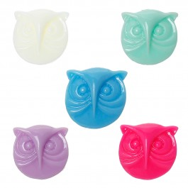 B39037: 50 pieces 16x15mm Resin Embellishment Findings Jewelry Making Owl Halloween Mixed DIY Craft Brooch hair Accessory Scrapbook [ C13 ]