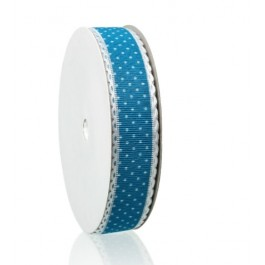 B44707: Blue Dot Ribbon 25mm, 5meter