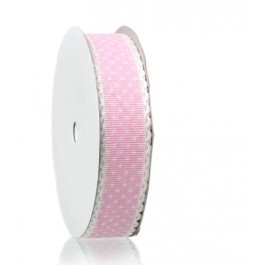 B44705: Pink Dot Ribbon 25mm