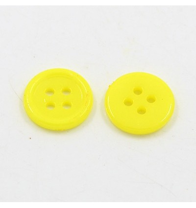 MC426: Acrylic Sewing Buttons Resin Button 12mm, 200 pieces [ A10 ]