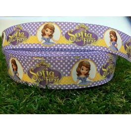 RB045: Sofia T1 Grograin Ribbon 25mm 5meter