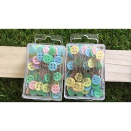MC536: Button Shawl Pin 45mm, approx 100 pieces [ B2 ]
