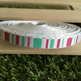 B44137: Terylene Ribbon Stripe 10mm, 5 meter