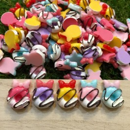 SA022: Donut Resin 15x20mm, 20 pieces [ C18 ]
