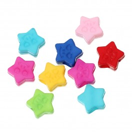 B49829: Stars 14x13mm, 50 pieces [ C12 ]