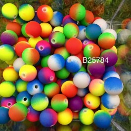 B25784: Acrylic Spacer Beads Round 10mm, 100 pieces [ A19 ]