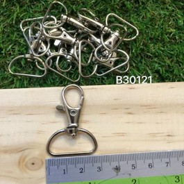 B30121: Lobster Swivel Clasps For Key Ring 41x29mm, 10 pieces [ C9 ]