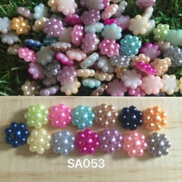 SA053: Acrylic Flower 10mm, 50 pieces/pack [ A13 ]