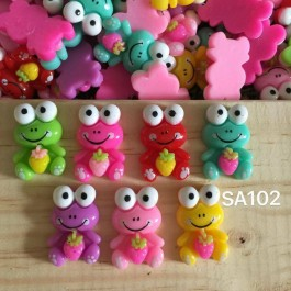 SA102: Frog Resin 26x20mm, 20 pieces/pack [ B9 ]