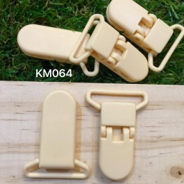 KM064: BUTTERCUP: Baby Pacifier Clip 30mm, 5 pieces/pack