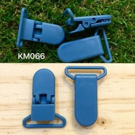 KM066: Jade: Baby Pacifier Clip 30mm, 5 pieces/pack
