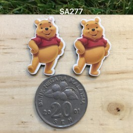SA277: POOH 27x17mm, 5 pieces [ Z06 ]