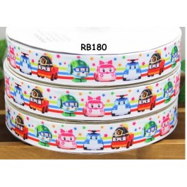 RB180: POLI Grosgrain Ribbon 22mm, 5Meter