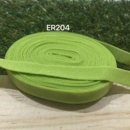 ER204: APPLE GREEN: 10mm Elastic Ribbon 5meter