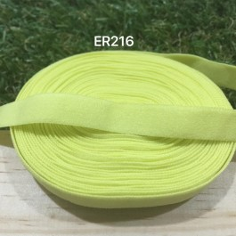 ER216: PINEAPPLE: 10mm Elastic Ribbon 5meter