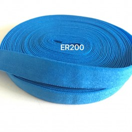 ER200: AEGEAN BLUE: 10mm Elastic Ribbon 5meter