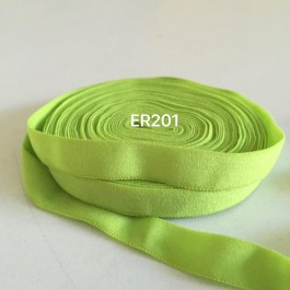 ER201: LT GREEN: 10mm Elastic Ribbon 5meter