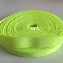 ER206: KEY LIME: 10mm Elastic Ribbon 5meter