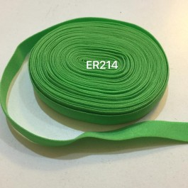 ER214: GREEN FLASH: 10mm Elastic Ribbon 5meter