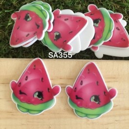 SA355: Shopkins Watermelon 33x29mm, 5 pieces [ Z27 ]
