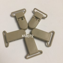 KM072: CANDIED GINGER: Baby Pacifier Clip 30mm, 5 pieces/pack