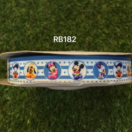 RB182: Disney Baby Grosgrain Ribbon 22mm, 5Meter