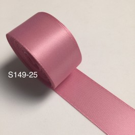 S149-25: WILD ROSE: Double Faced Satin Ribbon 25mm, 5Meter