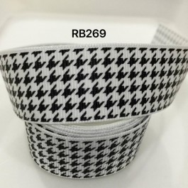 RB269: Classic Grosgrain Ribbon 25mm, 5Meter