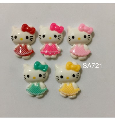 SA721: Hello Kitty 16x23mm, 10 pieces/pack