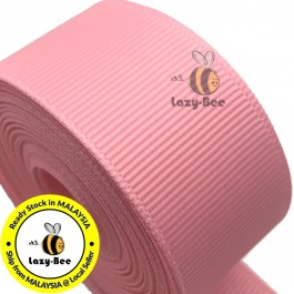 R150 PINK: 5 meter Grosgrain Ribbon Wedding DIY Craft Bow knot Perkahwinan Borong Balut Reben