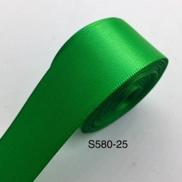 S580 EMERALD: 5 meter Double Faced Satin Ribbon Wedding DIY Craft Bow knot Perkahwinan Borong Balut Reben