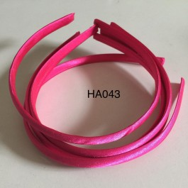 HA043: Shocking Pink: Kids Headband 10mm, 5 pieces