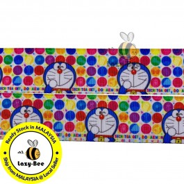 RB302: Doraemon: Grosgrain Ribbon 25mm, 5Meter